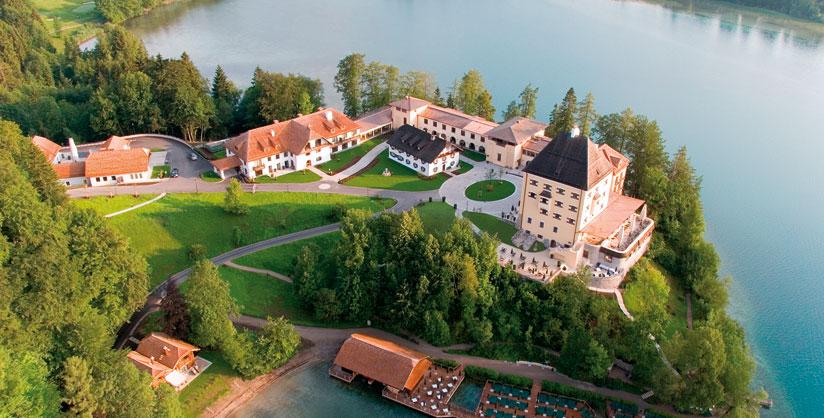 Castello di fuschl hof bei salzburg austria for Cianografie del letto della principessa